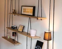 Suspended shelves-tagres suspendues - Sur mesure.