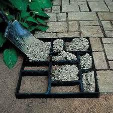 diy concrete patio molds