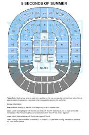 Melbourne Rod Laver Arena Seating Chart 5sos Seating Map Melbourne Olympic Parks