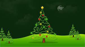 Animated Christmas Tree Background ...