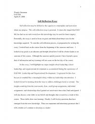 Further, while developing these strategies for discussion, the focus will also be diverted to the indication and use of personal experience in placements. 022 Learn How To Write Better Essays Efficient Ways Improve Student Self Reflective Essay Reflection Paper Leadership Development Example What Thatsnotus