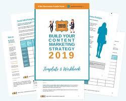 Content Marketing Strategy Template Eworkbook