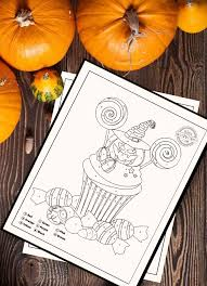 Get your free printable halloween coloring pages at allkidsnetwork.com. Spooktacular Halloween Activity Cutest Color By Number Printables