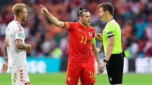 EM: Gareth Bale bricht nach Niederlage von Wales gegen Dänemark Interview  ab - und meckert über deutschen Schiri - Eurosport