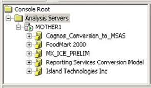 Msas Cubes Introduction To Mssql Server 2000 Analysis Services Actions In