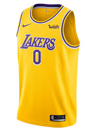 The lakers keep their franchise font but don blue and white as they reference the minneapolis and 1960s la lakers. Jerseys Lakers Store