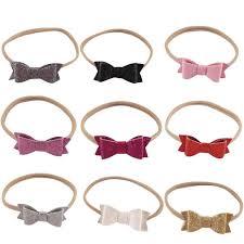 <b>ncmama 2Pcs/set Nylon Headband</b> for Baby Girls Handmade ...