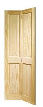 victorian 4 panel bi fold internal clear pine door