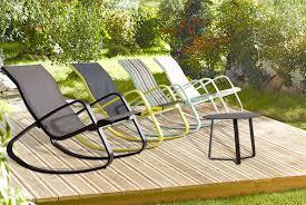aluminium garden rocking chair wowcher