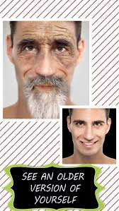 face aging booth to look older