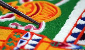 tibetan monks sand art