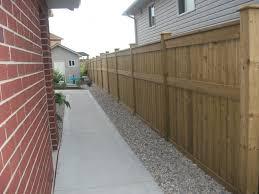 pt wood fence pressure treated fence