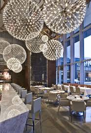 stairs light restaurant meal home lighting decoration. Moooi Lights In A Canadian Restaurant Really Do Look Like Fireworks Stairs Light Meal Home Lighting Decoration