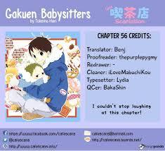 Babysitters Online Free Gakuen Babysitters 56 Read Gakuen Babysitters Ch 56 Online For