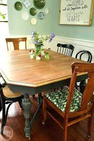 refinish a dining room table this dining room table only cost at a thrift after stripping and bleaching refinishing dining room table need expert