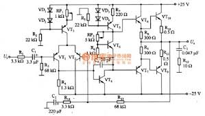 index 1498 circuit diagram seekic com transistor audio power amplifier circuit diagram