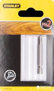 ROZETKA | <b>Бита</b> усиленная <b>Stanley PH2</b> 50 мм 1 шт (STA61161 ...