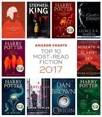 Amazon Charts Top Most Read And Listened To Books Of 2017