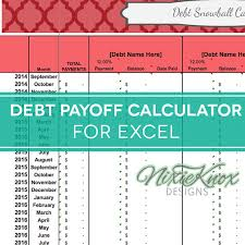 credit card payoff calculator excel debt payoff calculator for excel track your interest rates