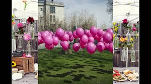 outside party themed decorating ideas