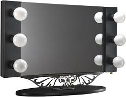 lighted vanity mirror and table lighted vanity mirror for classy fashionable makeup room fixcounter com home