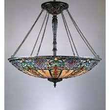 antique quoizel table lamps style 8 light vintage bronze pendant free