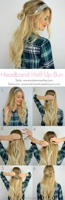 Hairband Hairstyle fast & easy hairstyle using a headband cashmere hair clip in 3555 by wearticles.com