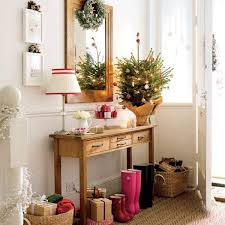Awesome Christmas Tree Decorating Ideas In Pastel For Console Table In The  Hallway