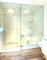 bath and shower combination corner bathtub with combo bathtubs idea tub curtain rod ba