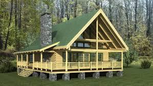 overlook log home
