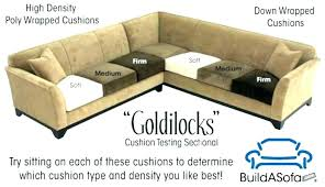 replacing couch cushions memory foam