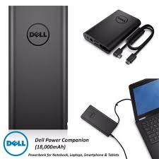 Sạc dự phòng cho Laptop Dell, Dell Power Companion Loại 1200mA,1800mAh - 14