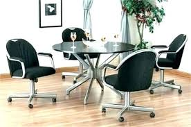 gorgeous dining chair on casters wheels for dining room chairs casters for dining room chairs wheeled