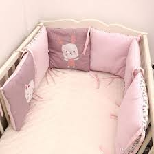2018 baby bed per in the crib rabbit flowers baby bedding per bed breathable crib per for baby girls boys vt0534 from smileer 29 95 dhgate