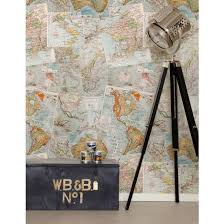 Small Picture Kemra Boutique Wallpapers French Maps Wallpaper fantasic new