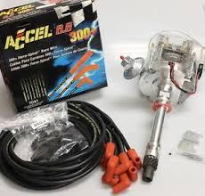 sbc chevy 350 383 super 65k hei clear cap distributor amp accel sbc chevy 350 383 super 65k hei clear