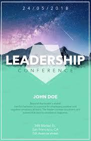 Online Flyer Design Template For A Leadership Conference 90