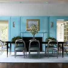 inspiration for a large transitional dark wood floor and brown floor enclosed dining room remodel in