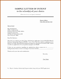 letter of intent for job employment letter of intent