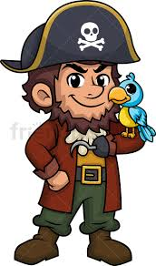 Image result for pirate captain clipart