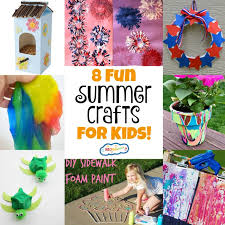 8 fun summer crafts for kids