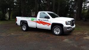 Rented a GMC Uhaul pickup