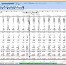 Business Plan Spreadsheet Template Sample Worksheets Financial