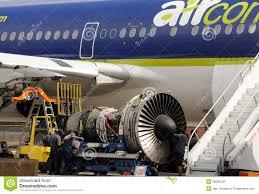 jet engine repair stock photography turbine engine mechanic