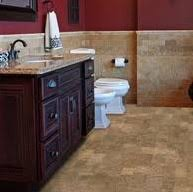cork floor for bathroom. Natural Glue Down Cork Flooring In A Bathroom, Floating Vs. Floor For Bathroom G
