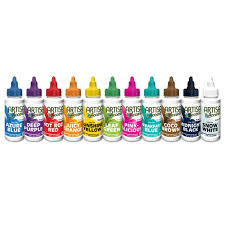 Artisan Accents Colour Gel Pack Of 11 Ea 59ml