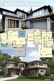 Architectural Designs Modern House Plan 23544JD comes to life! The home  gives you 4 beds