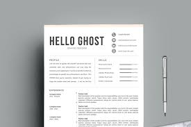 Creative Resume Template | 4 Pages - Resume Templates | Creative ...
