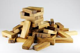 Games With Wooden Blocks Cool Wooden Block Game Photograph By Rittidach Trakanrungroj