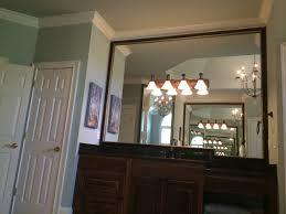 Bathroom Mirror Frame Custom Mirror Frames Frames Bathroom Mirror Frames